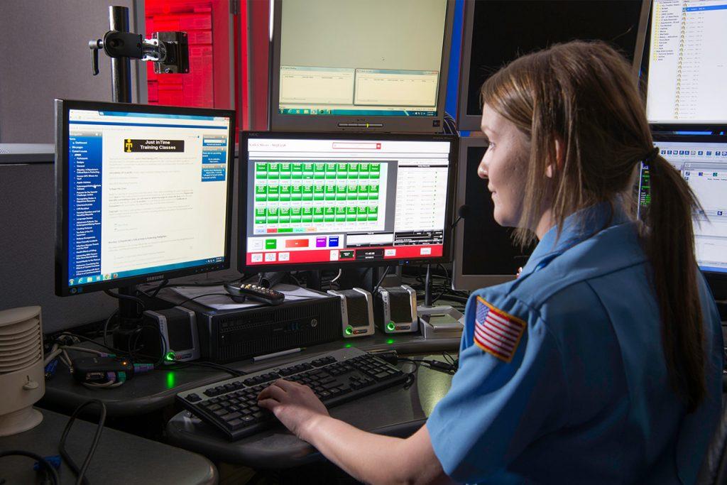 Emergency 911 call handler